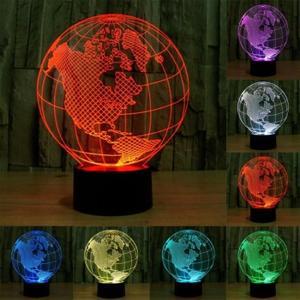 The 3D Optical Illusion Lamp Chez Gift.Ma Boutique des cadeaux aux meilleurs prix en ligne au Maroc