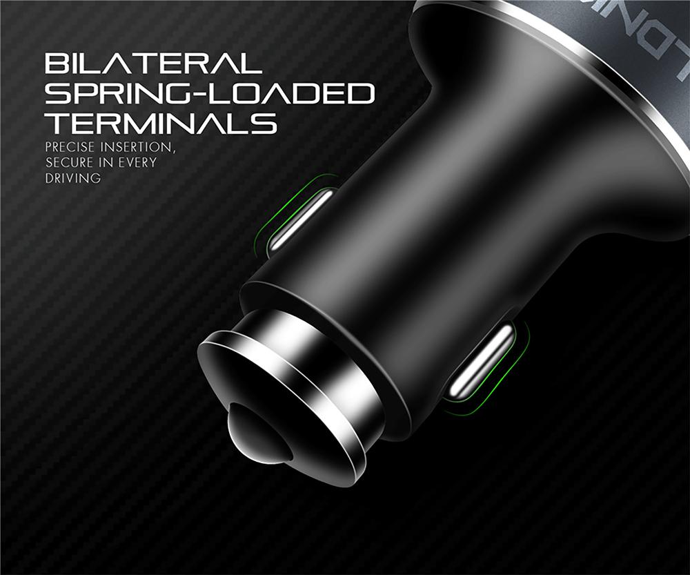 USB Chargeur de Voiture Adaptateur pour Allume-Cigare LDNIO 4 Port USB 5.1A - C502 - Chez Gift.Ma Boutique des cadeaux aux meilleurs prix en ligne au Maroc