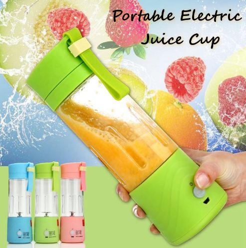 Mini Portable Mixeur Des Fruits Rechargeable Avec USB chez Gift.Ma Boutique des cadeaux aux meilleurs prix en ligne au Maroc,