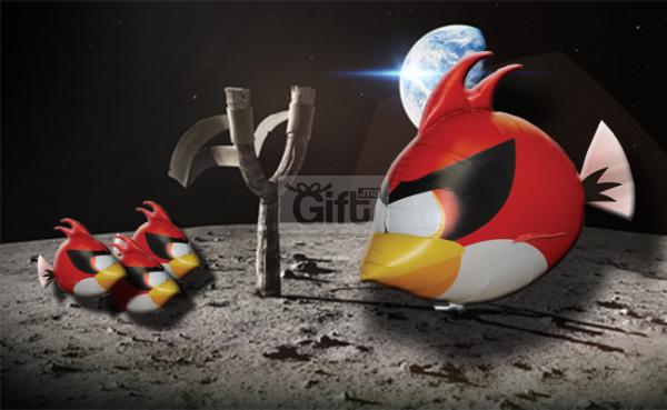 Air Swimmers - Angry Birds - Oiseau rouge Volant Radiocommandé  Meilleur Cadeaux pour réunir votre famille afin de Passer du temps avec vos enfants ou vos petits-enfants