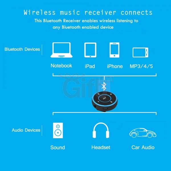 récepteur Bluetooth pour voiture en ligne chez Gift.ma le moin cher au maroc