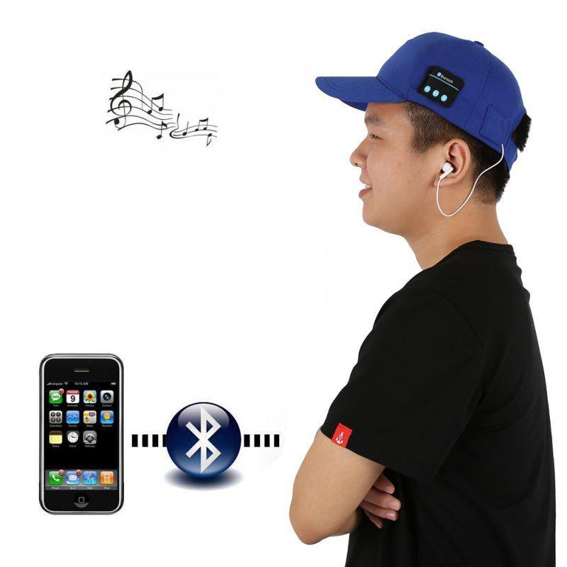 Bluetooth Earphones Baseball hat Bluetooth Cap Music Sun Hat Headset Headphones Chez Gift.Ma Boutique des cadeaux aux meilleurs prix en ligne au Maroc