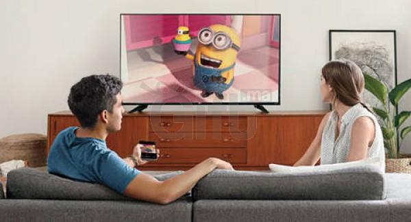 Dongle Chromecast - Diffuser vos morceaux de musique, films ou photos sur vos grand écran de votre téléviseur à partir de votre téléphone.