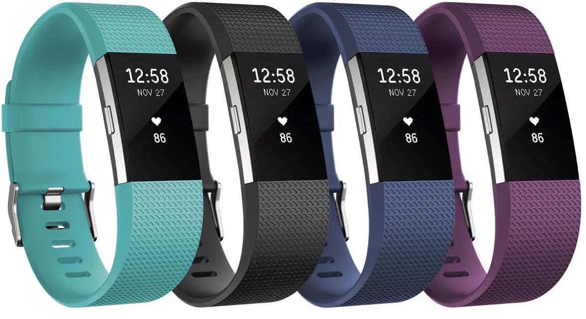 Fitbit Charge 2™ Bracelet d'activité avec suivi de la fréquence cardiaque