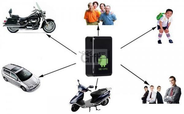 Recever l'emplacement du tracker sur votre Téléphone par texto grace à ce Tracker GPS. Ecouter ce qu'il se passe en appelant dessu. Micro GSM Tracker GPS avec Caméra pour Recever l'emplacement du tracker sur votre téléphone par texto & Ecouter ce qu'il se passe en appelant dessu