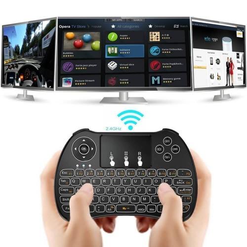 Mini Clavier Sans Fil avec Touchpad souris à distance