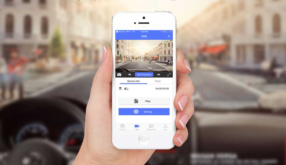 Offres en ligne chez Gift.ma boutique de cadeaux en ligne le moin cher au Maroc Rétroviseur Tactil+ Wifi