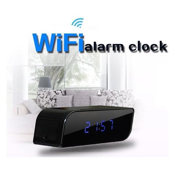 reveil-camera-espion-wifi-hd-Chez Gift.Ma Boutique des cadeaux aux meilleurs prix en ligne au Maroc