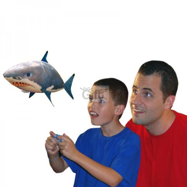 Air Swimmers - Shark Télécommande Meilleur cadeaux pour réunir votre famille afin de Passer du temps avec vos enfants ou vos petits-enfants