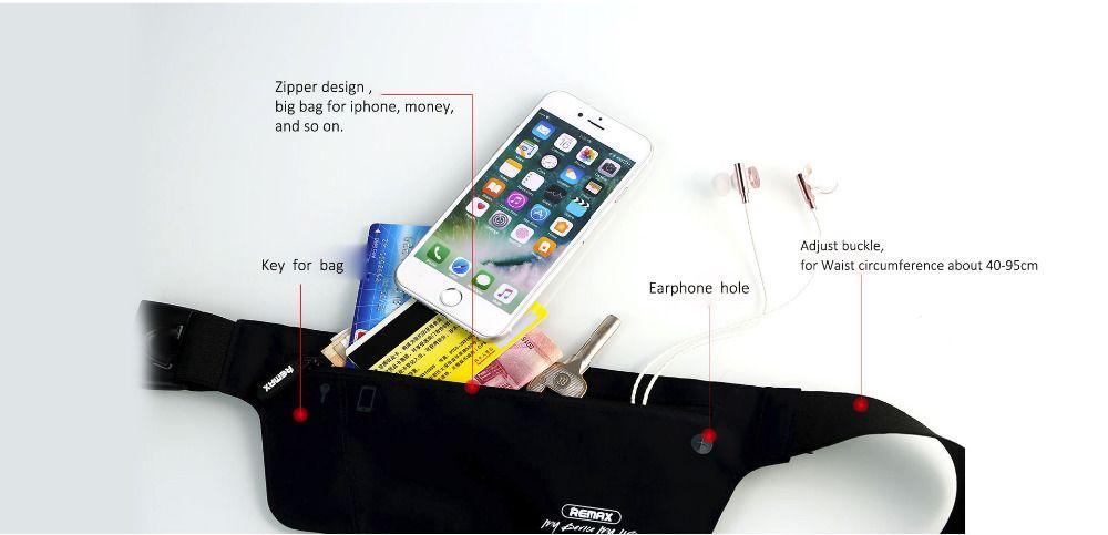sport-waistband-banana-remax-smartphone-pas-cher-remax-Chez Gift.Ma Boutique des cadeaux aux meilleurs prix en ligne au Maroc
