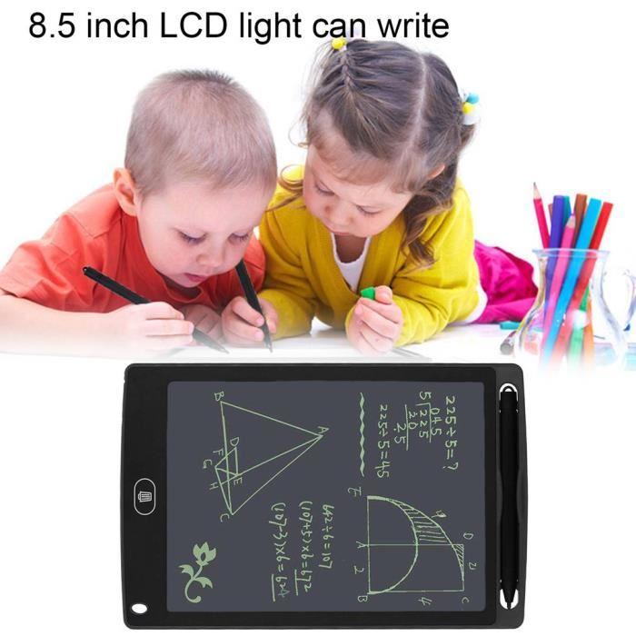 """Tampon d'écriture d'écran LCD Dessin de Digital 8,5"""" Pour Enfants Concepteur, Professeur, étudiant et Utilisation Commerciale Chez Gift.Ma Boutique des cadeaux aux meilleurs prix en ligne au Maroc"""