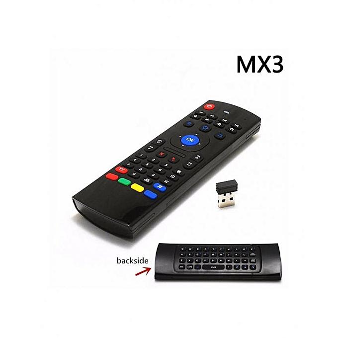 telecommande-azerty air mouse 24 ghz sans fil Chez Gift.Ma Boutique des cadeaux aux meilleurs prix en ligne au Maroc