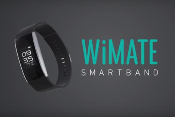 Bracelet connecté - Wiko WiMate - Chez Gift.Ma Boutique des cadeaux aux meilleurs prix en ligne au Maroc